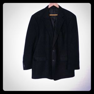 Brooks Brothers Black Camelhair jacket 46L